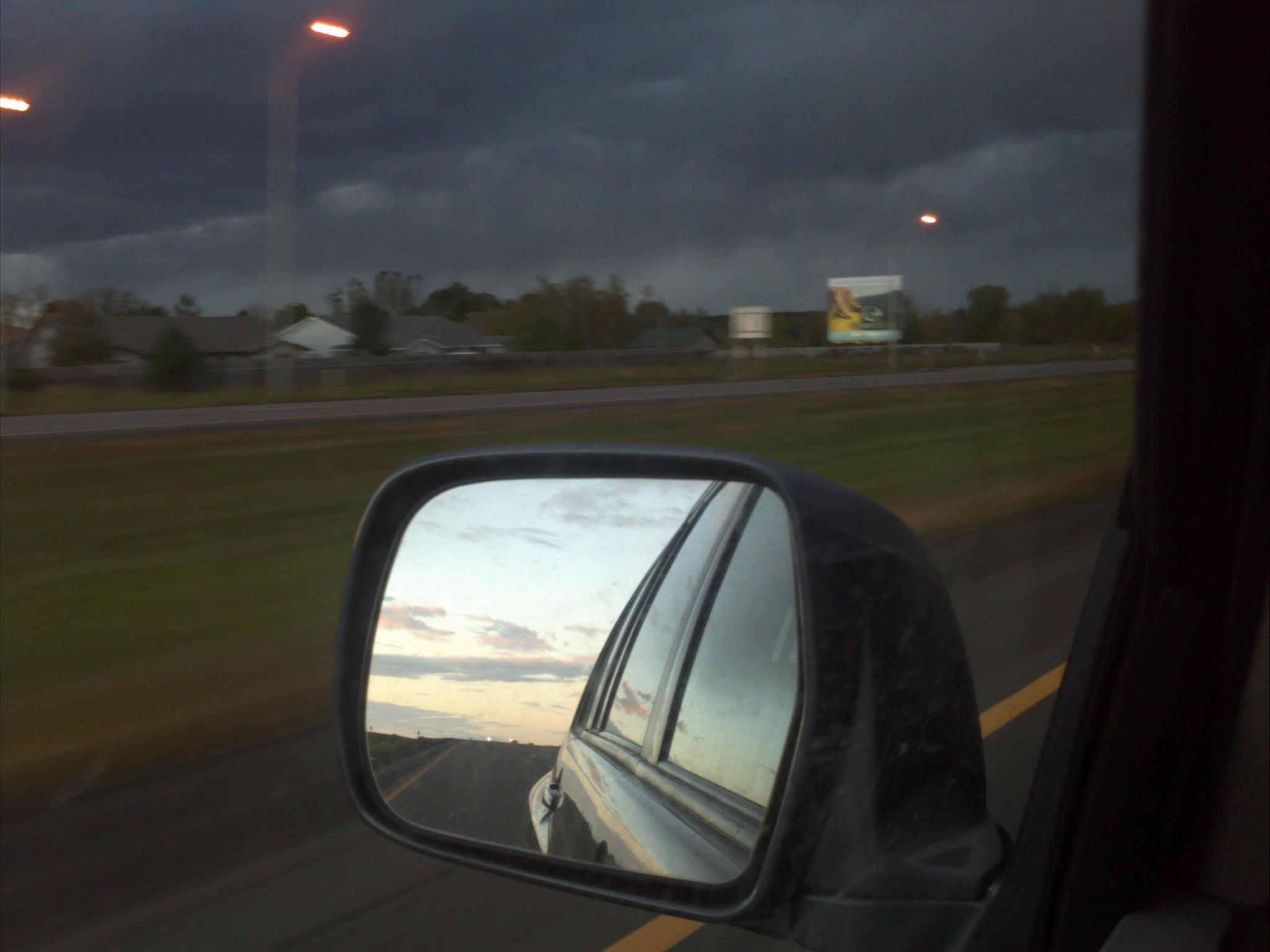 Entering a Storm