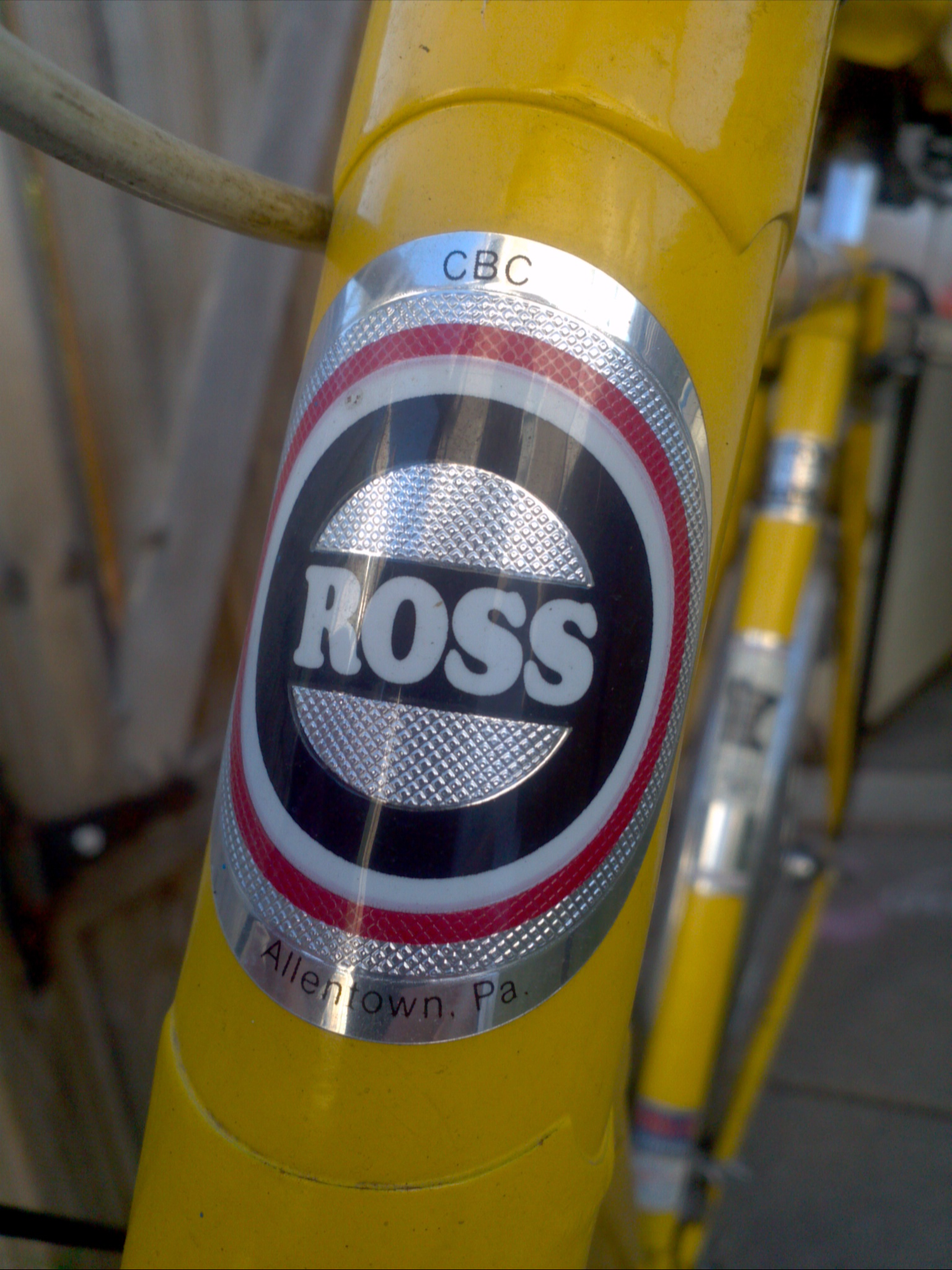 My Ross Bike
