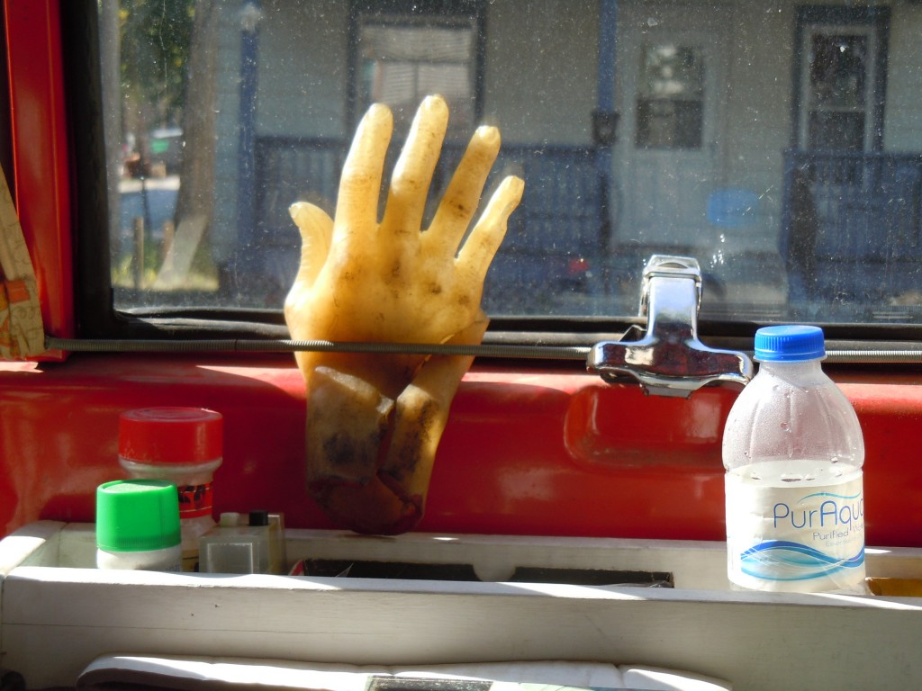 Creepy Van - Hand Inside