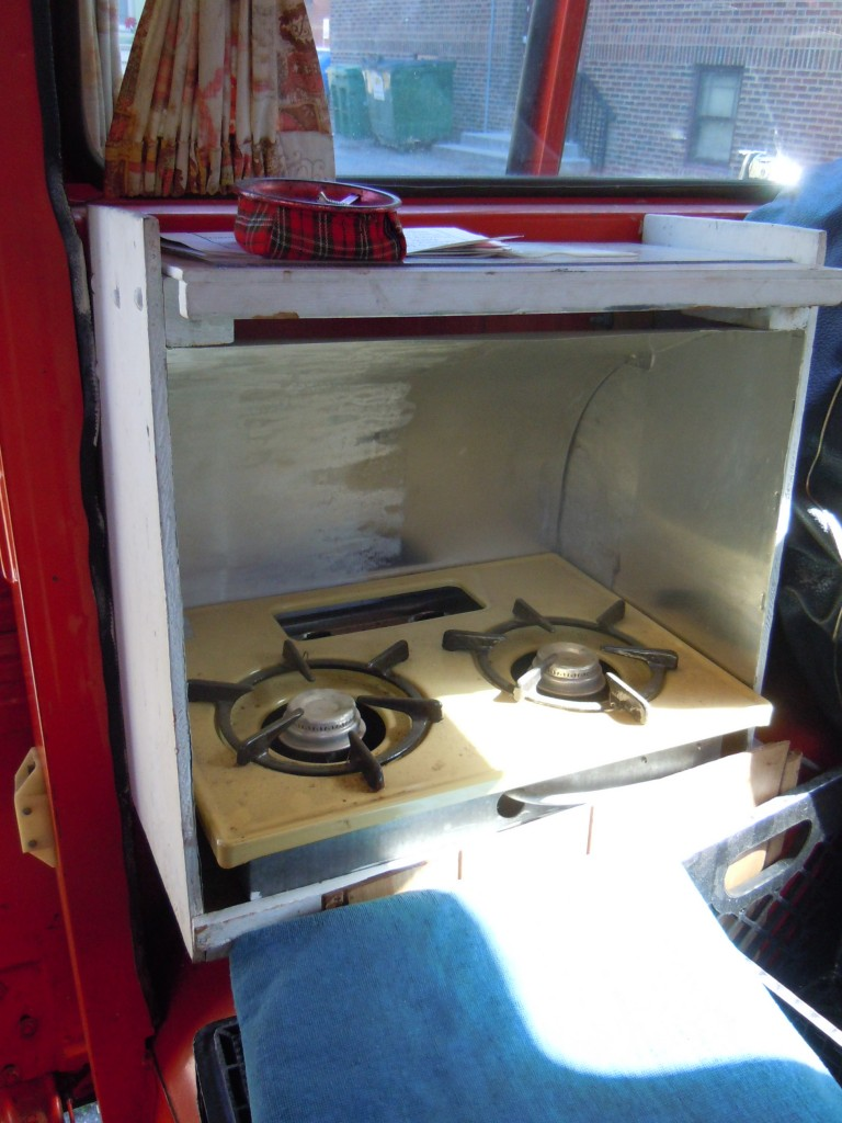 Creepy Van - Propane Gas Stove