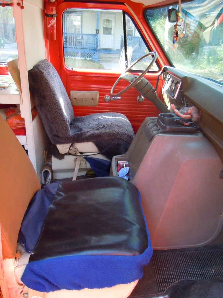 Creepy Van - Front Seats