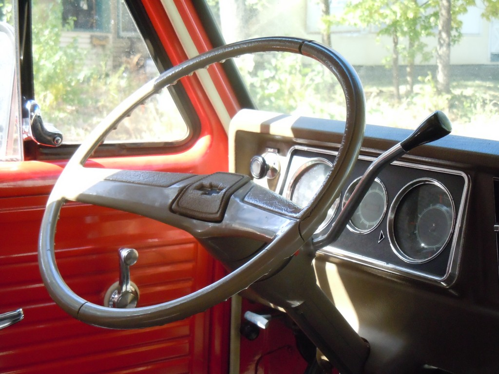 Creepy Van - Steering Wheel