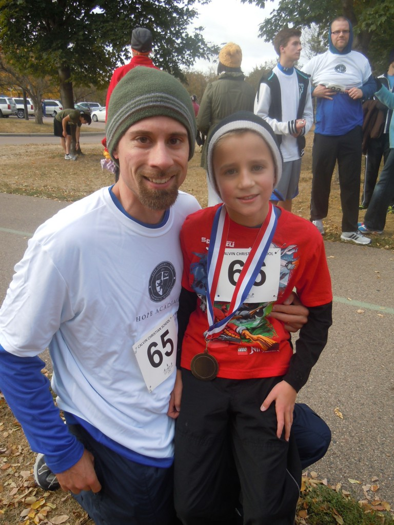My Son's First 5K Race