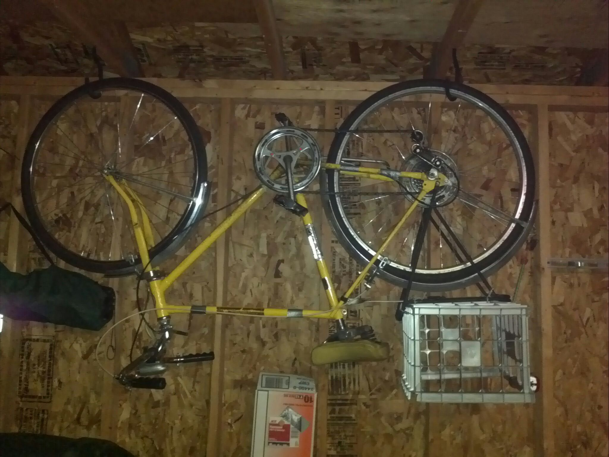 bike storage family tuesday hang iheart august organizing in garage update hangingbikes bikes