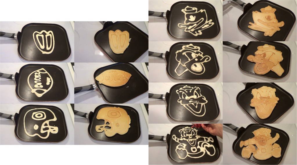 Oregon Ducks Pancakes