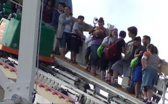Roller Coaster Evacuation