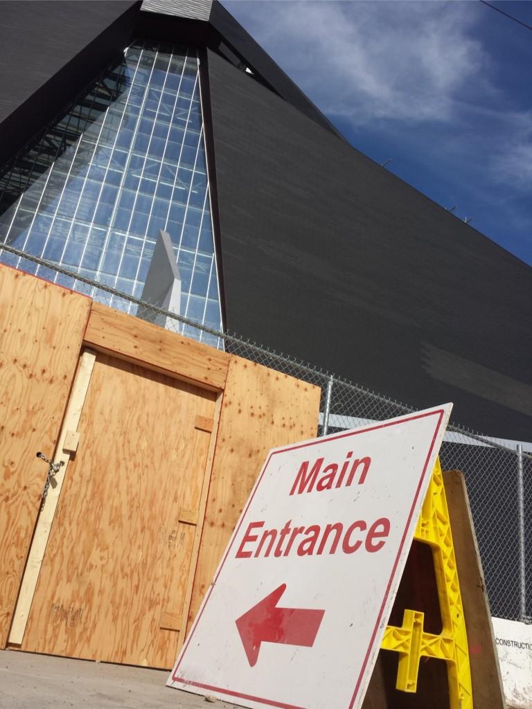 Vikes New Main Entrance